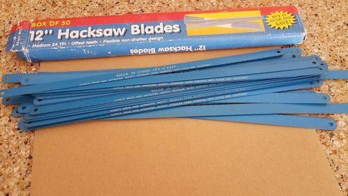 LOT OF 34 Hacksaw Blades 12