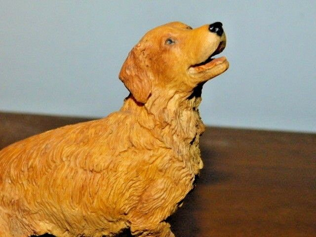 AYNSLEY GOLDEN RETRIEVER - MASTER CRAFT HAND PAINTED - MADE IN ENGLAND