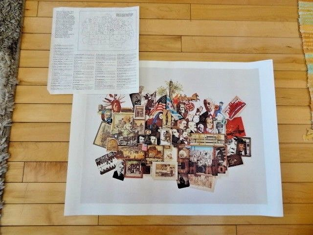 1976 Chicago Yellow Pages Commercial Directory Cover Honors Bicentennial Print