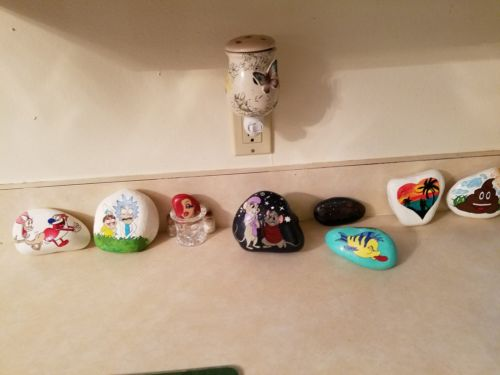 Painted rocks per request. Prices vary