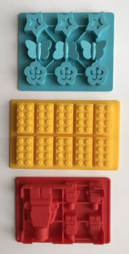Lego Friends Silicon Chocolate Or ice Cube Molds Mint Condition Birthday Favors