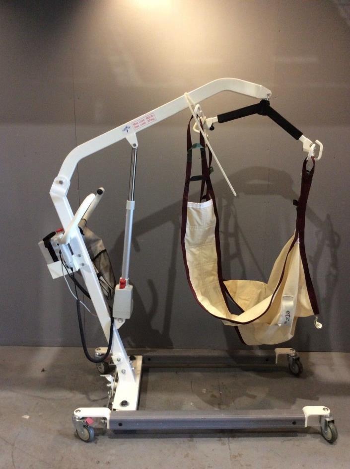 Medline MDS600EL Patient Lift #2, Medical, Healthcare, Mobility, 600lbs