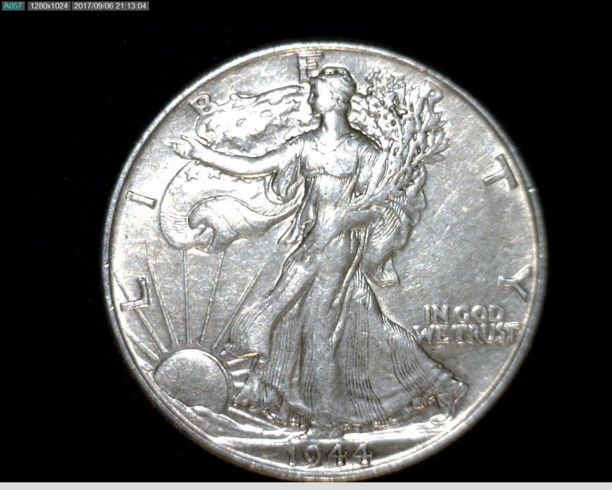 1944  Silver Walking Liberty Half Dollar #A280