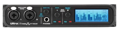 MOTU UltraLite-mk4 (18x22 USB Audio Interface)