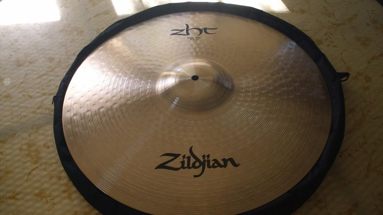 Zildjian 20 Inch Rock Ride Cymbal  With Carrying Case