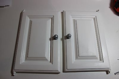 STEP 2 DREAM DELUXE KITCHEN REPLACE WHITE CABINET 2  DOORS free US SHIP