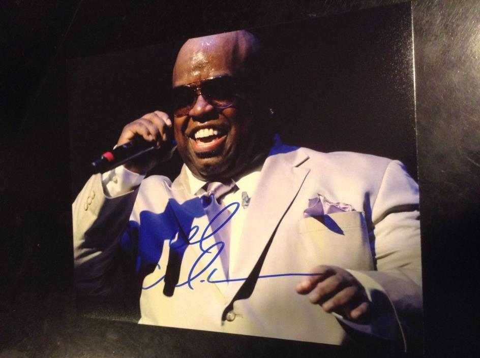 Cee lo green music autographed 8x10 Coa100%authentic CLEARANCE
