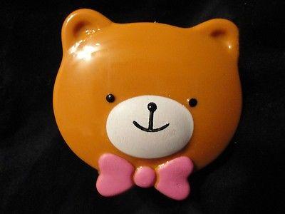 Tiny Teddy Bear pencil sharpeners set of 8