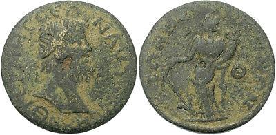 FORVM Termessos Major Pisidia AE29 Tyche Holding Rudder and Cornucopia
