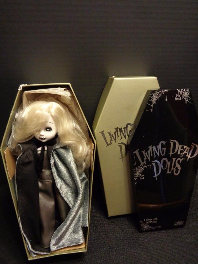 LIVING DEAD DOLL - SIREN MEZCO 2000 SERIES 5 ORIG BOX HTF Halloween