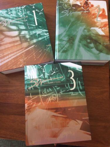 Southwestern Set Of 3 Books Student Handbook