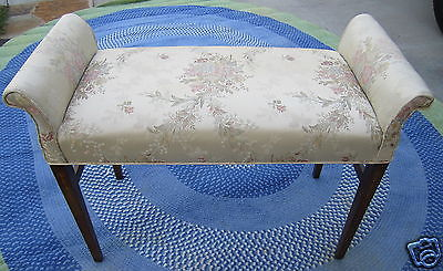 Smith and Watson Sheraton Window Seat, vintage bench seat, vanity seat