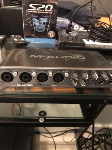 M-Audio Fast Track Ultra Digital Recording Interface