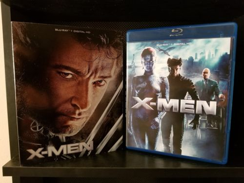 Xmen blu ray collection, with Slipcovers!