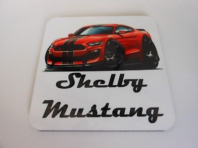 FORD SHELBY MUSTANG COASTER