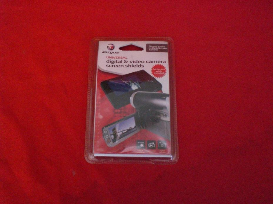 Digital Video Camera Screen Shield or protector Targus 1600253