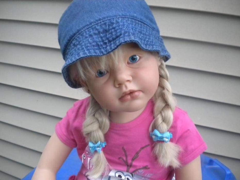 Reborn Toddler Child-size Girl, 41