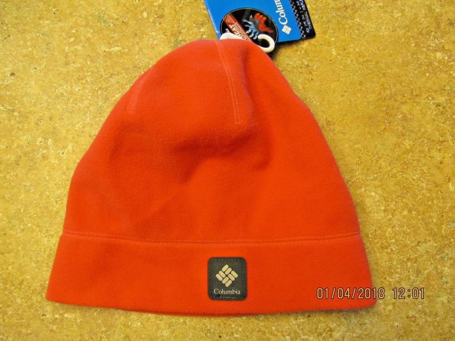 Youth Columbia Thermarator Beanie hat neon orange l/xl nwt L@@K