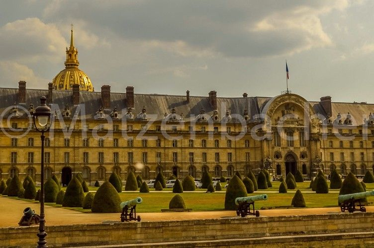 Photo Digital France Government Building Paris Background Free Shipping