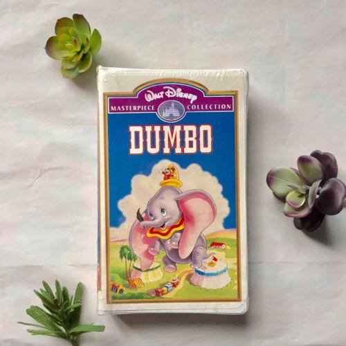 Walt Disney's Dumbo Masterpiece Collection New Sealed Nostalgic VHS 024