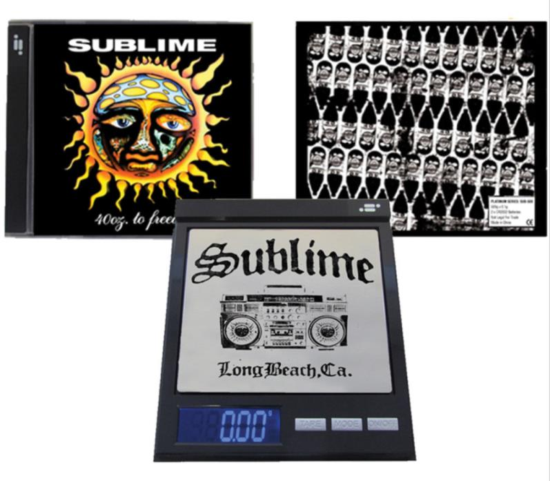 Sublime CD Scale Digital 100g x 0.01g Pocket Kitchen 420 * Officially Licensed
