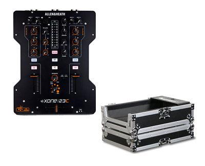 Allen & Heath Xone:23C 2+2 Channel DJ Mixer + Odyssey FZ10MIX Case PROAUDIOSTAR