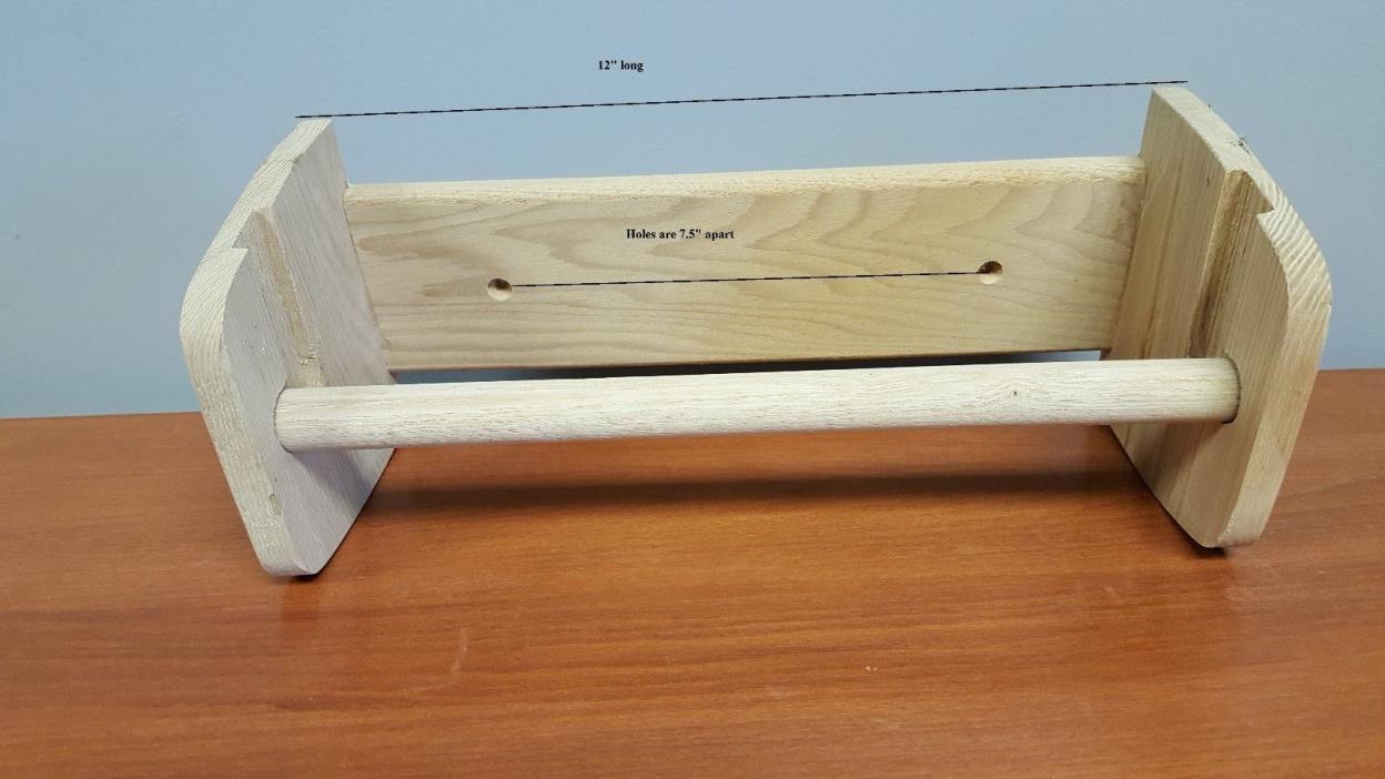 Paper Towel Holder - Wooden