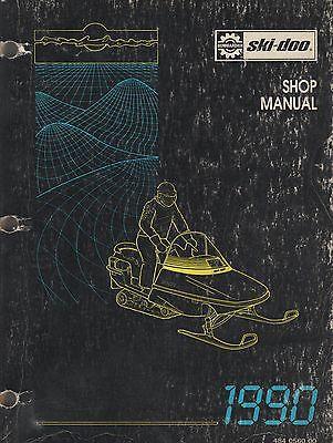 1990  SKI -DOO SNOWMOBILE SHOP MANUAL P/N 484 0560 00 (300)