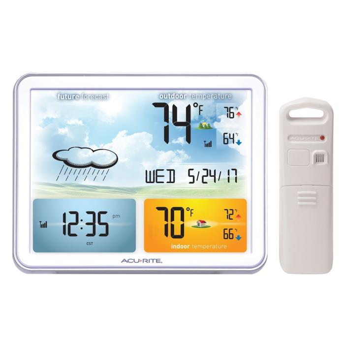 AcuRite 02081M Weather Station with Jumbo Display & Atomic Clock