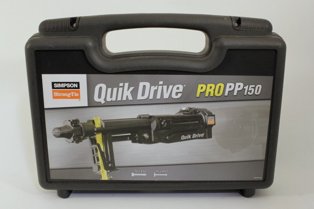 Quik Drive PROPP150 Metal Roofing G2 Attachment Simpson Strong Tie Complete