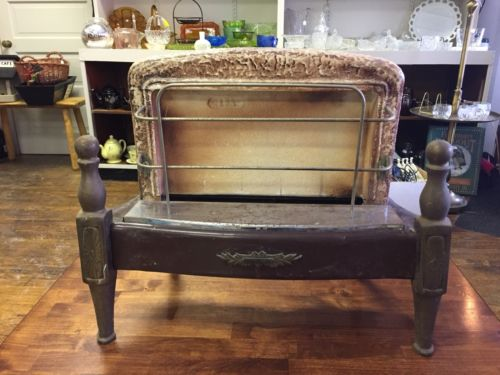 Vintage Antique Sears Roebuck And Co. Ornate Art Deco Cast Iron Gas Stove Heater