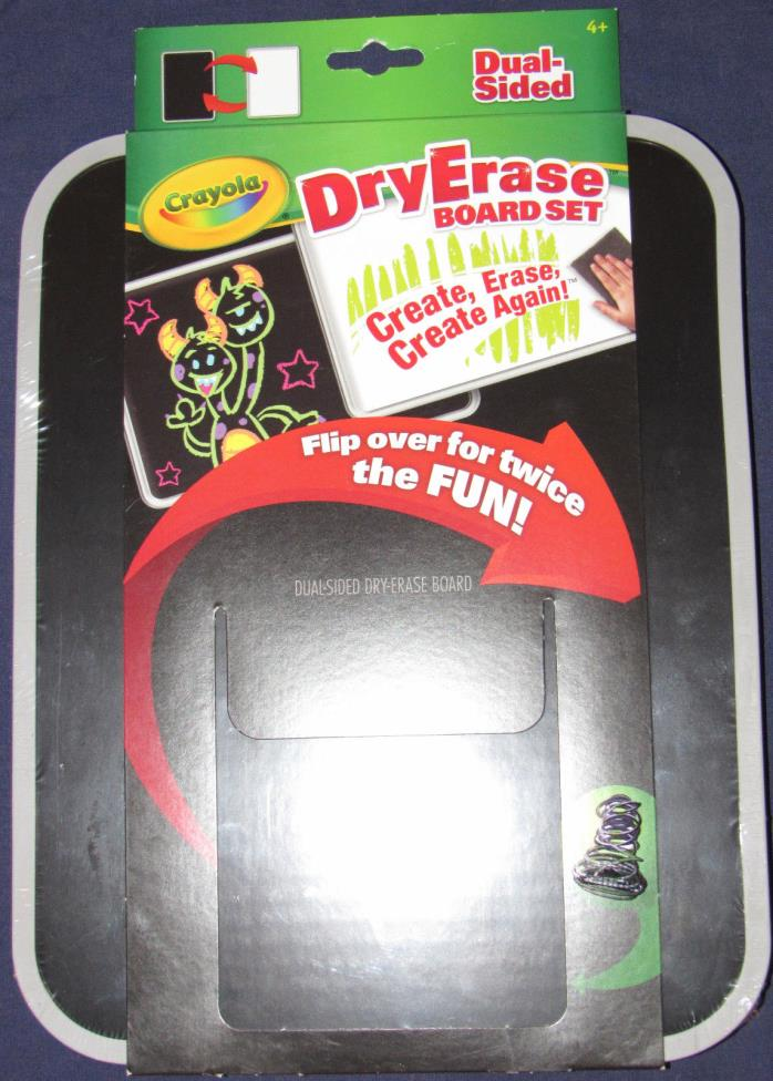Crayola Dry-Erase Dual-Sided Board - BOARD ONLY