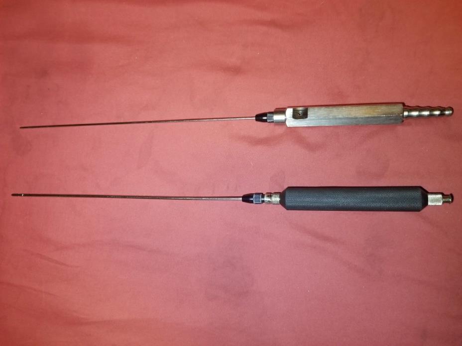 Fat Transplantation Liposuction Harvesting Cannulas Set with Handle 25cm