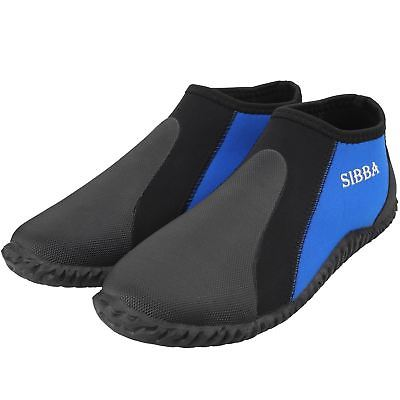 Neoprene Low Top Diving Boots Wetsuits Pull On Boot Water Shoes Size 10
