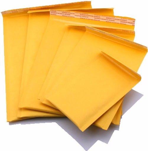 100 #5 10.5X16 KRAFT BUBBLE MAILERS PADDED ENVELOPES ENVELOPE  10.5