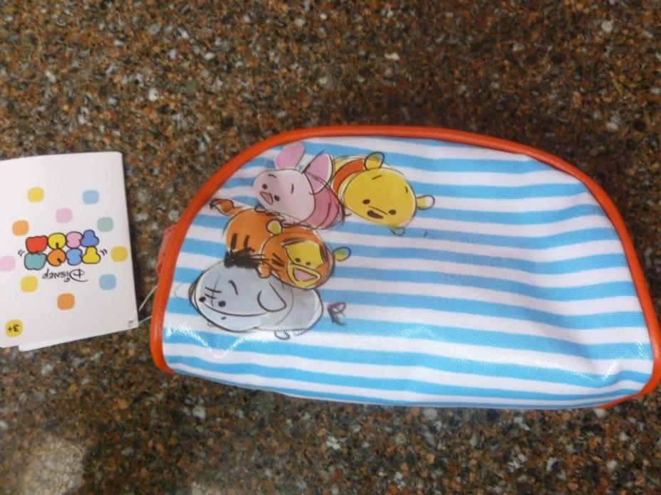 Disney Store Tsum Cosmetic Bag Winnie the Pooh & Friends Makeup Sold Out NWT