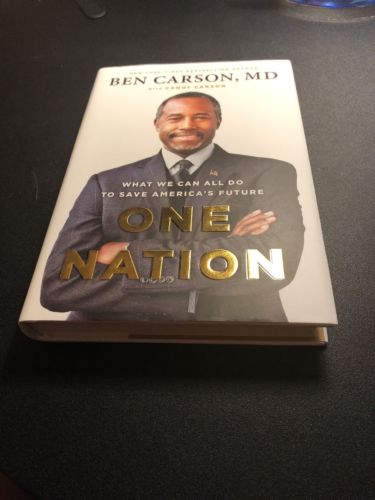 Ben Carson One Nation Hardback Book