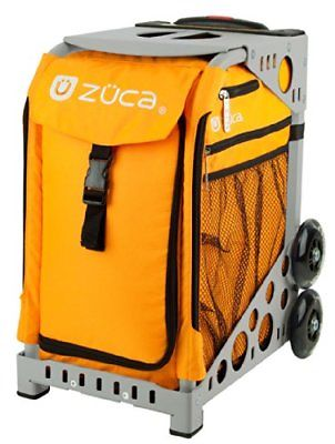ZUCA Bag Caution Insert & Gray Frame w/ Flashing Wheels