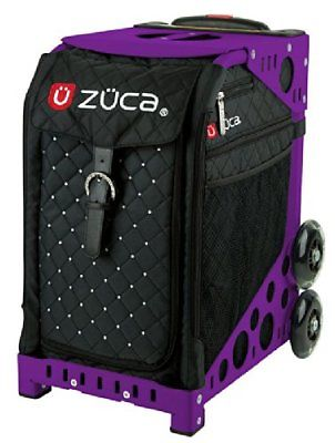 ZUCA Bag Mystic Insert & Purple Frame w/ Flashing Wheels