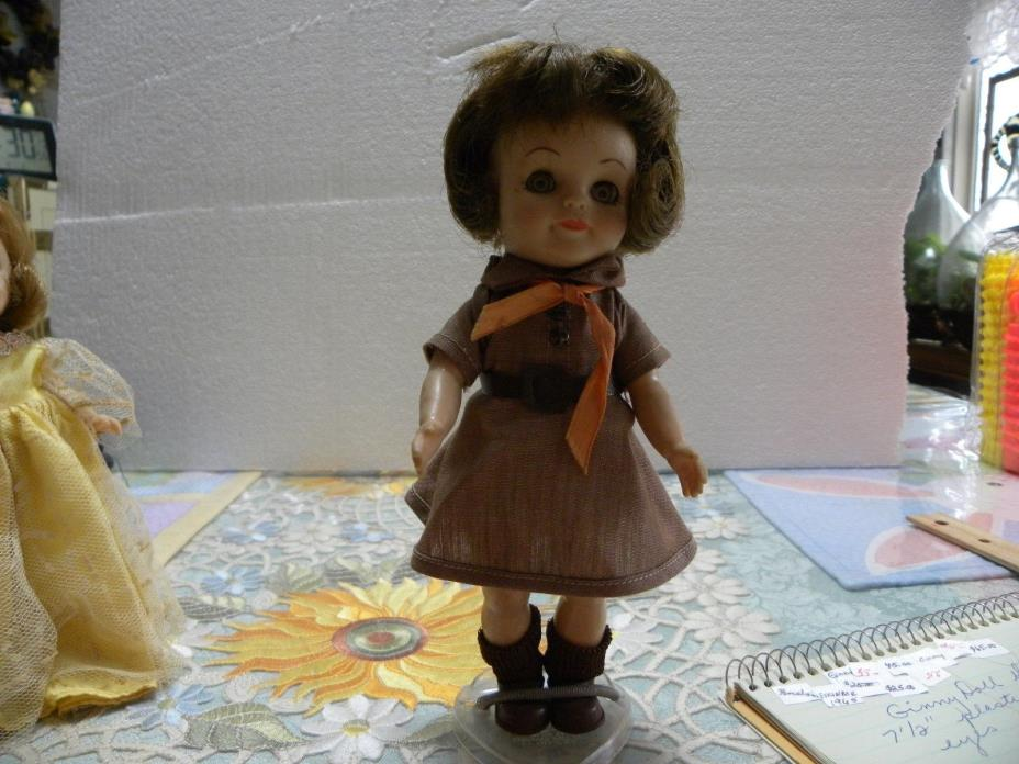 EFFENBEE DOLL 1965 BROWNIE SCOUT  8