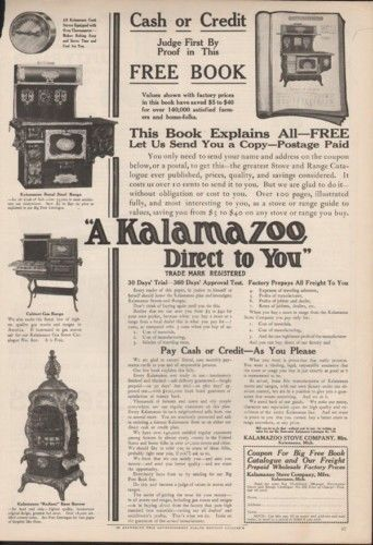 1910? KALAMAZOO ROYAL STEEL RANGE OVEN BURNER KITCHEN 9622