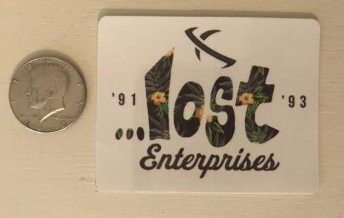 Lost Enterprises Surf Skate Sticker Authentic Pig Dog Weatherproof Rare Decal