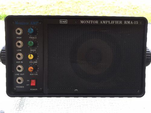 RMS Monitor Amplifier RMA-15