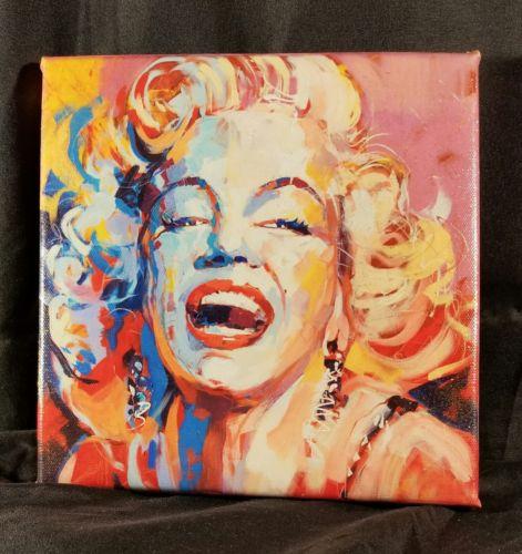 Francoise Nielly- FRAMED 8x8 Canvas Print: