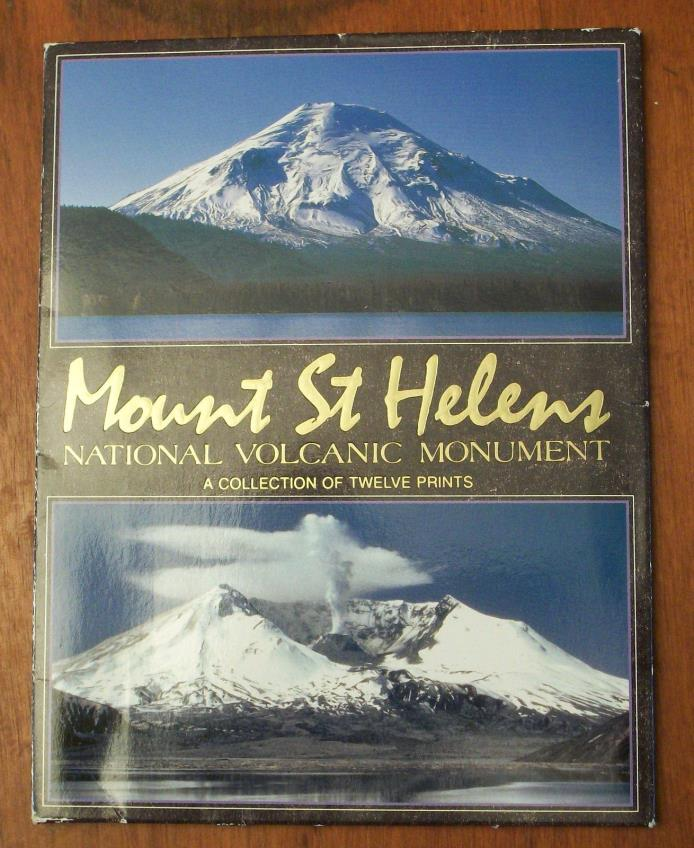 Mount St Helens National Volcanic Monument A Collection of Twelve postcards