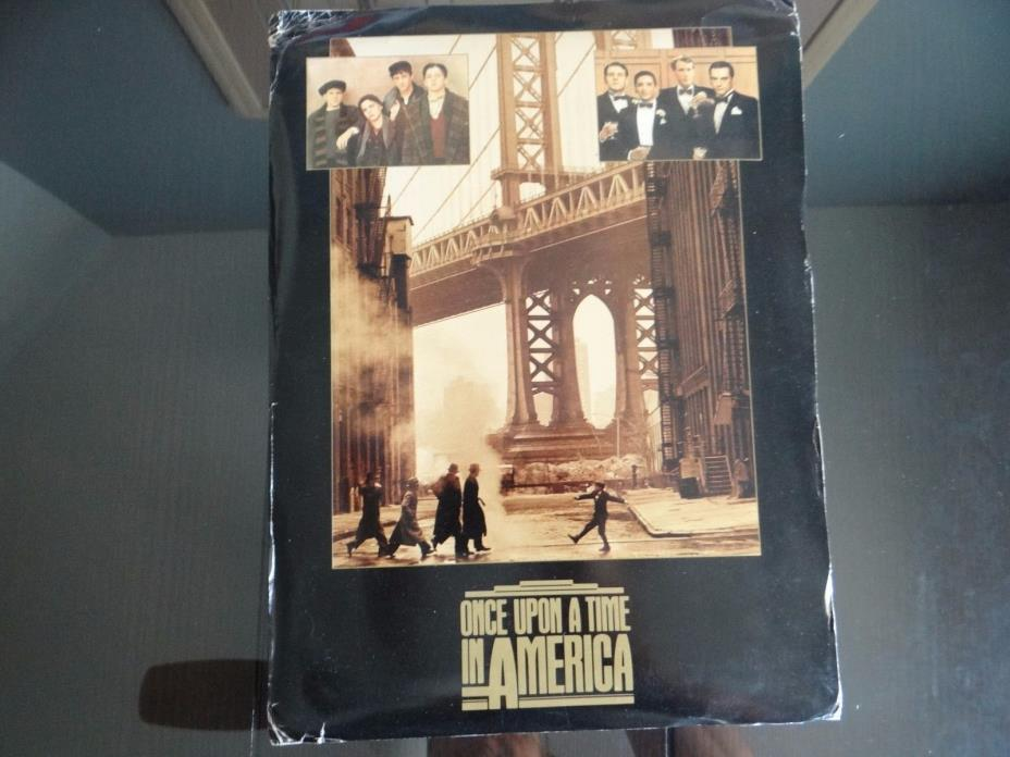 1984 Once Upon a Time in America Movie Studio Press Kit incl 24 Photos