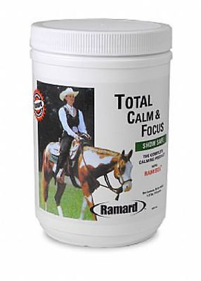 TOTAL Calm & Focus Horse Equine All Natural Calm Nervous Anxious 30 Day Supply
