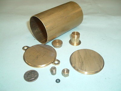 Model Hit and miss Gas engine Brass Fuel Tank Kit 1-3/4