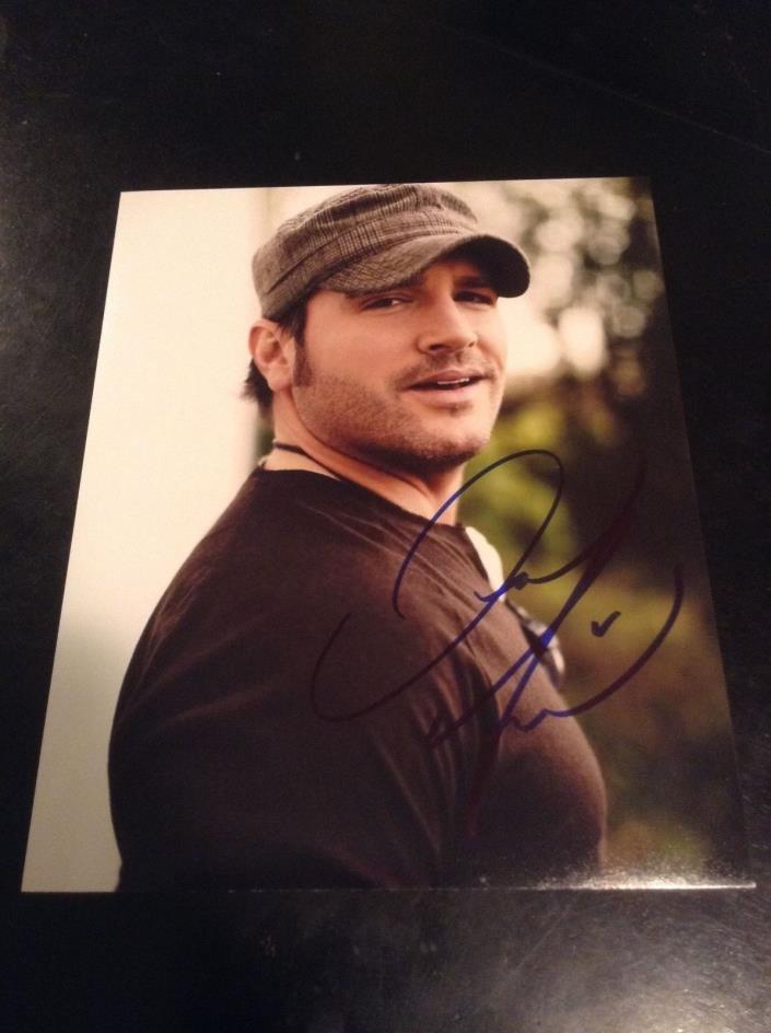 Jerrod niemann music autographed 8x10 Coa100%authentic CLEARANCE