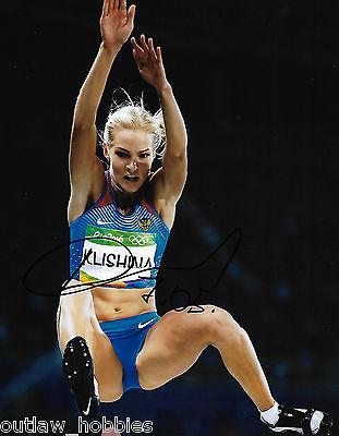 Darya Klishina Team Russia Autographed Signed 8x10 Photo COA J